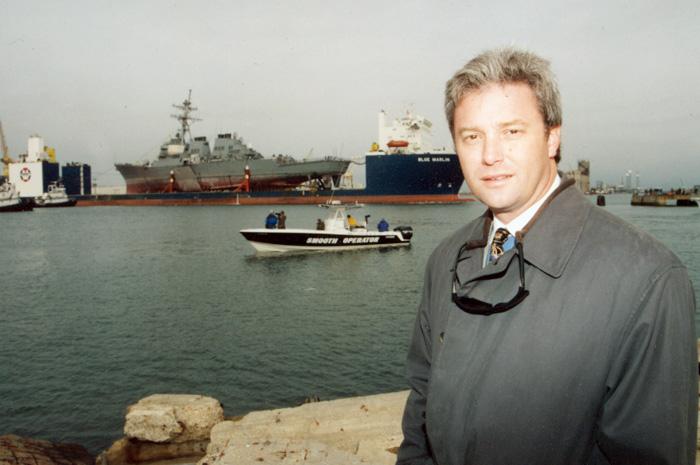 USS Cole Arrives