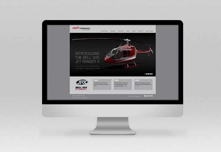 Bell 505 Website