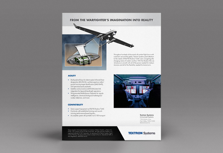Textron Systems Data Sheet