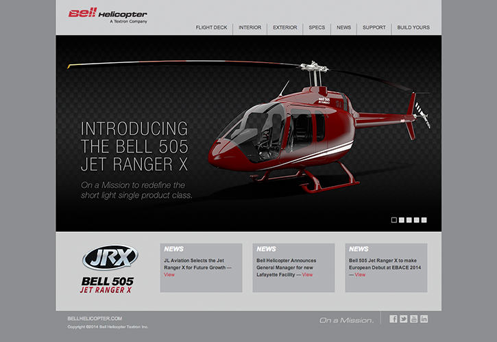 Bell 505 Web Concept