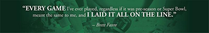 Brett Favre - The Cirlot Agency