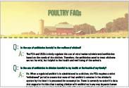 Sanderson Farms, Inc. Antibiotic Communications – Communication/Marketing Campaign