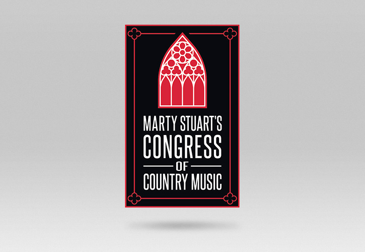 Marty Stuart's Congress of Country Music Logo