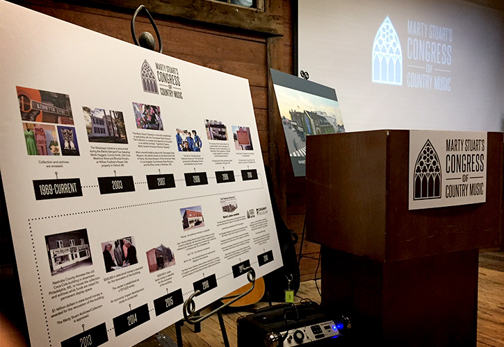 Marty Stuart's Congress of Country Music Timeline Reception